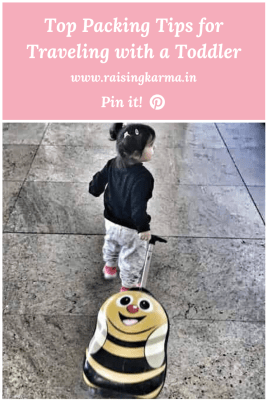 Top Packing Tips for Traveling with a Toddler | Raising Karma
