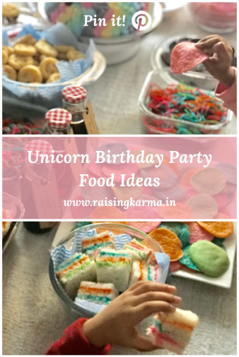 Unicorn Birthday Party Food Ideas | Raising Karma