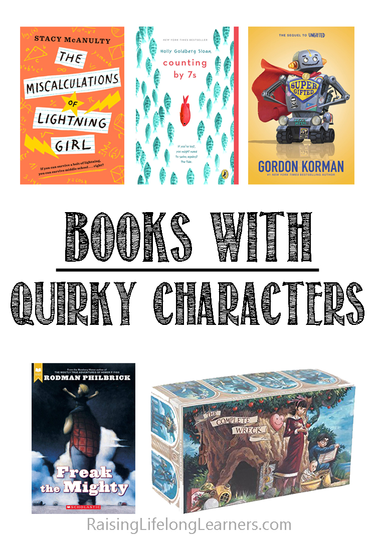 books with quirky characters