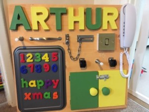 CraftyParents Series SB Activity Board