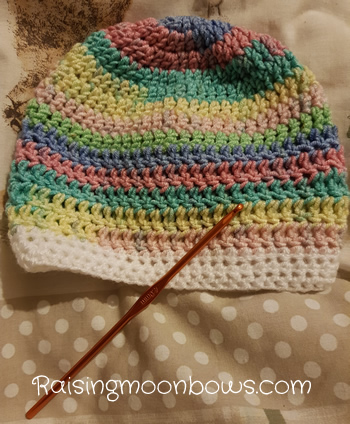 My Crochet Hooks Are Out and Sewing Machine Primed - Ro's Hat