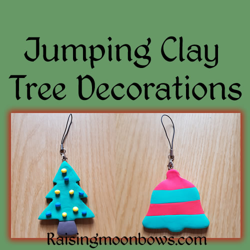 How to Make Easy Jumping Clay Tree Decorations. FI