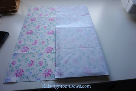 How to make a quick and easy pouch liner for a phone or tablet step 3
