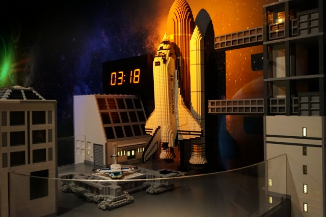 Family Days Out - Legoland Discovery Centre Manchester - space