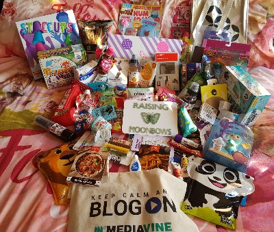 Attending blogon - goody bag