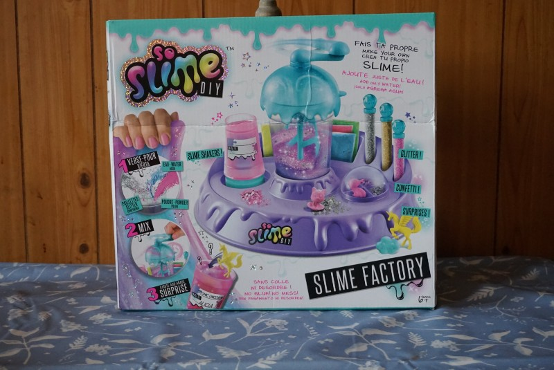 So Slime DIY Slime Factory Review - Box