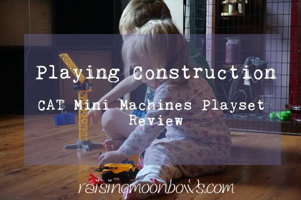 CAT Mini Machines Playset FI