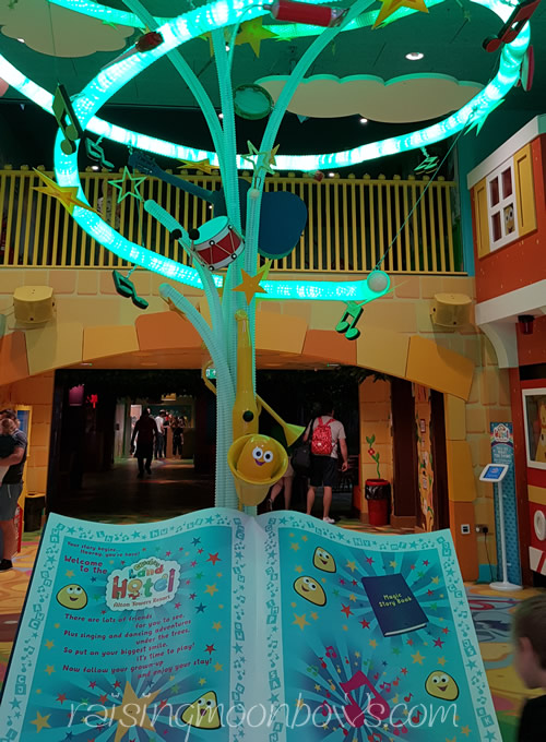 Staying at Cbeebies Hotel Alton Towers - enterance