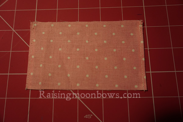 Easy Card Holder Sewing Pattern  - 3