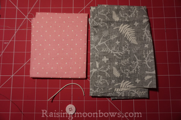 Easy Card Holder Sewing Pattern  - 1
