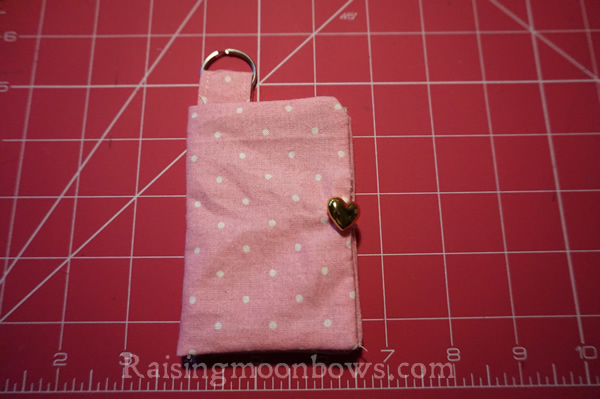 Easy Card Holder Sewing Pattern  - 10
