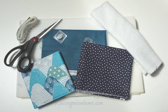 Laptop Sleeve materials shown