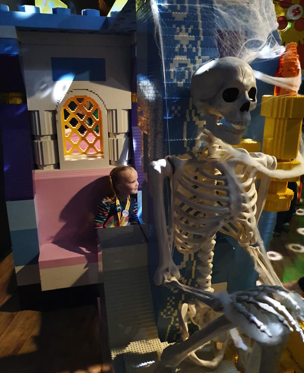 Halloween activites - legoland discovery centre