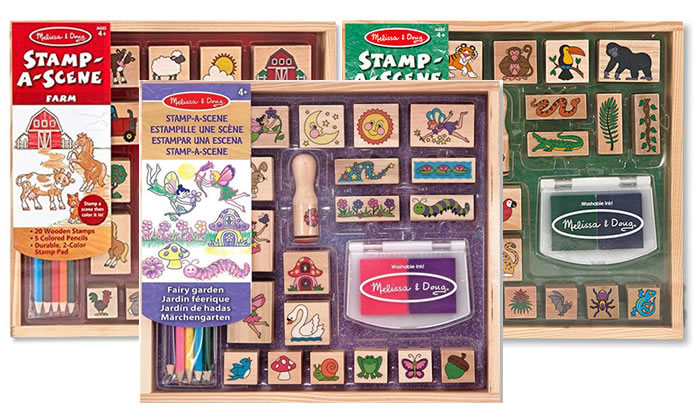 Kids Creative Gift ideas - Stamp sets