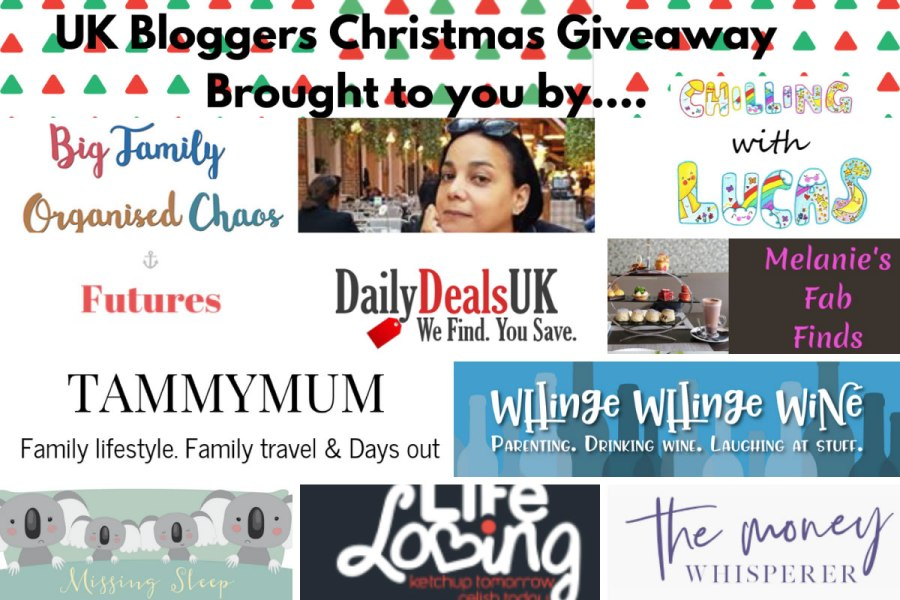 UK Blogger Xmas Giveaway 3