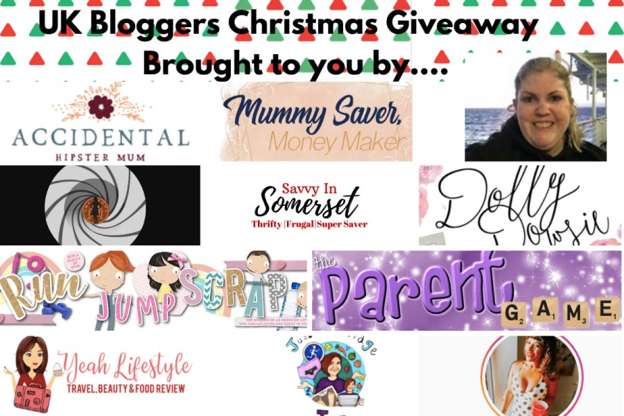 UK Blogger Xmas Giveaway 5