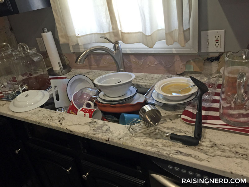 kitchen-sink-raising-nerd