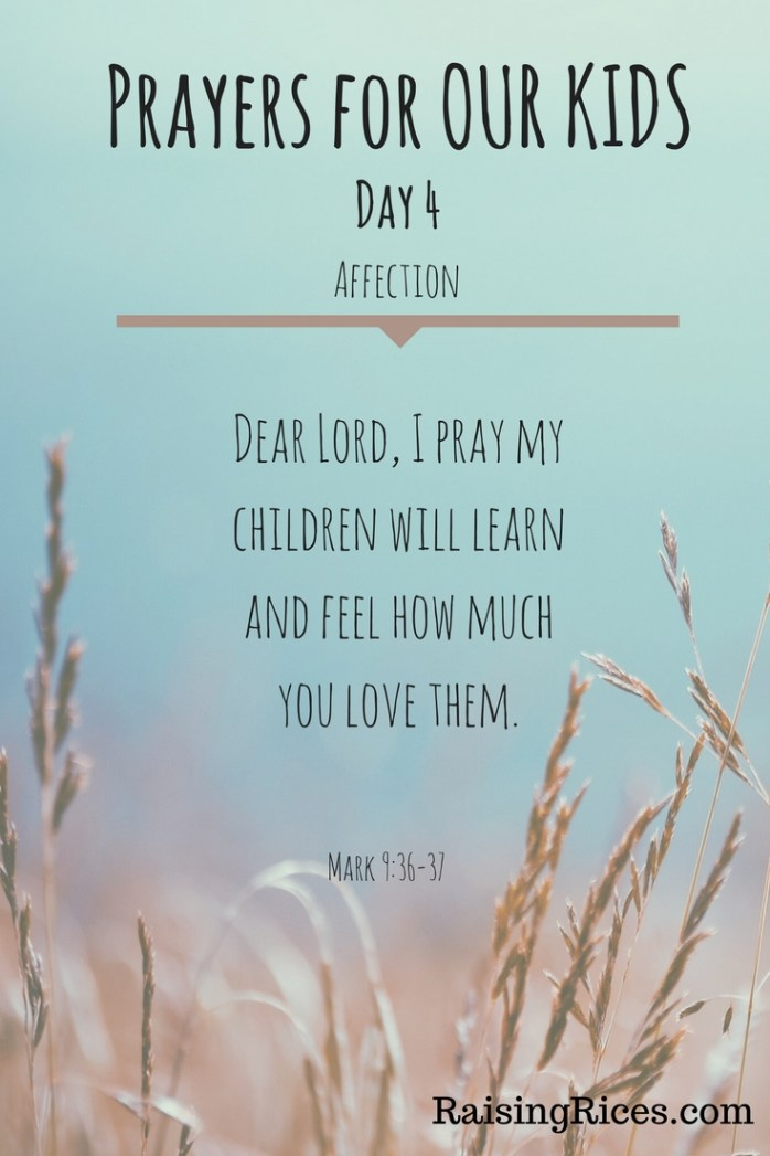 April - Prayer day 4