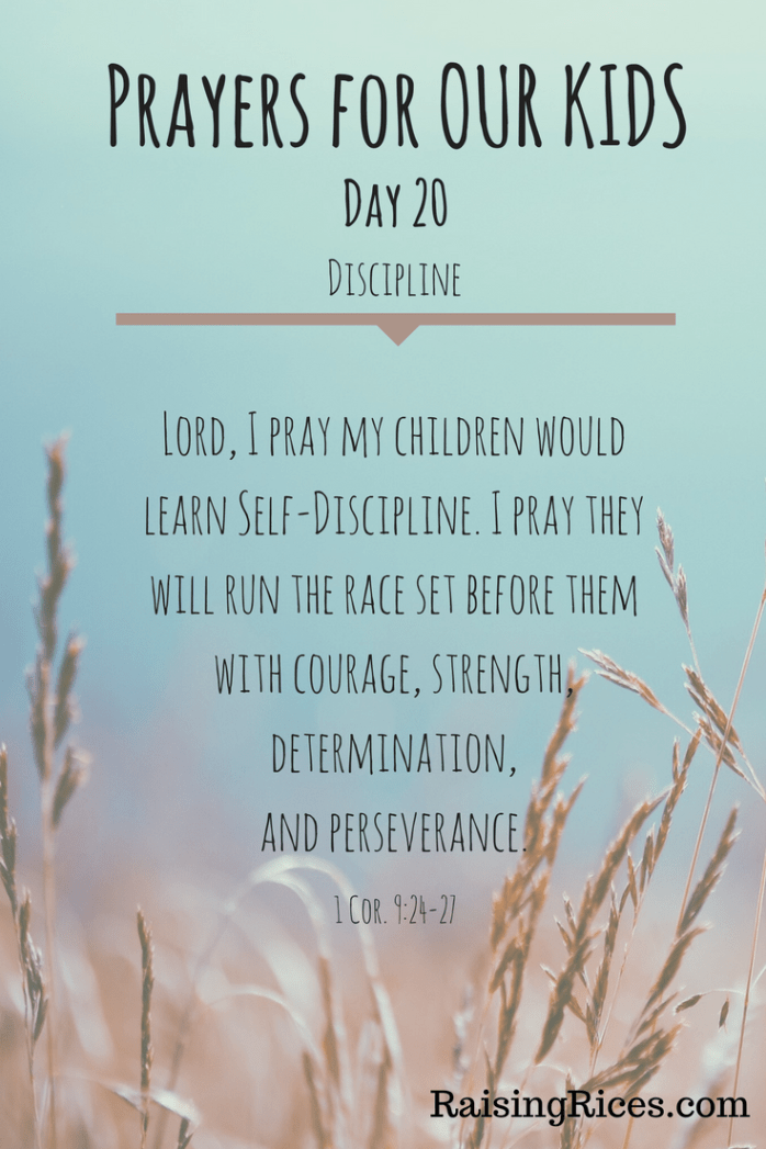 April - Prayer day 20