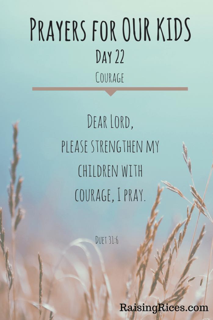 April - Prayer day 22