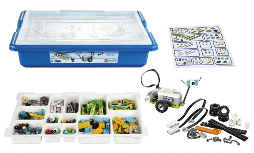 LEGO® Education WeDo 2.0 Core Set showing all pieces