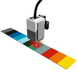 LEGO® MINDSTORMS® Education EV3 Colour Sensor in action