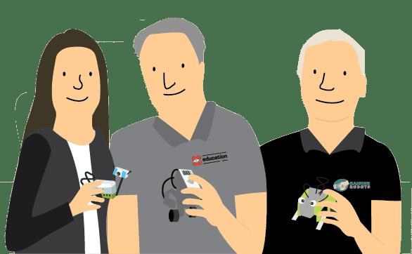 TEAM - Raising Robots - LEGO Education SPIKE Prime, MINDSTORMS, BricQ and WeDo 2.0