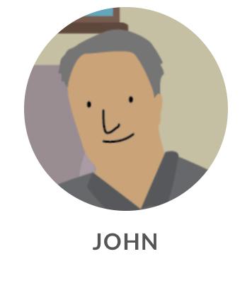 Drawing of John