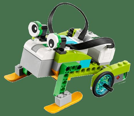 wedo frog - Raising Robots - LEGO Mindstorms EV3 & WeDo