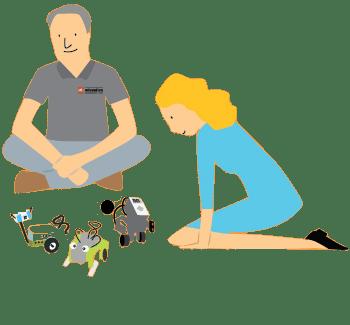 training icon - Raising Robots - LEGO Education SPIKE Prime, MINDSTORMS & WeDo 2.0