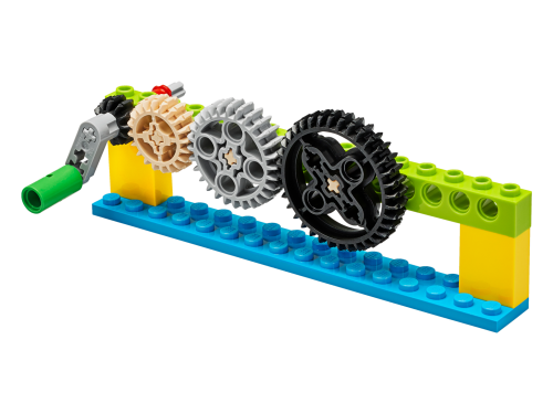 45401 ModDetail 27 - LEGO® Education BricQ Motion Essential Set (Primary) - with optional Personal Learning Kit