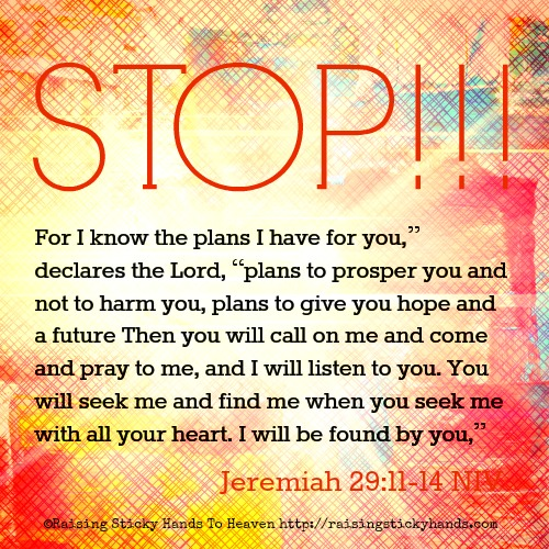Stop going without God's Plan