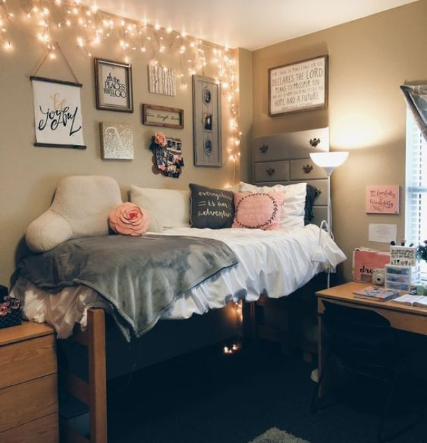 25 cool dorm rooms that will get you totally psyched for college raising teens today. Black Bedroom Furniture Sets. Home Design Ideas
