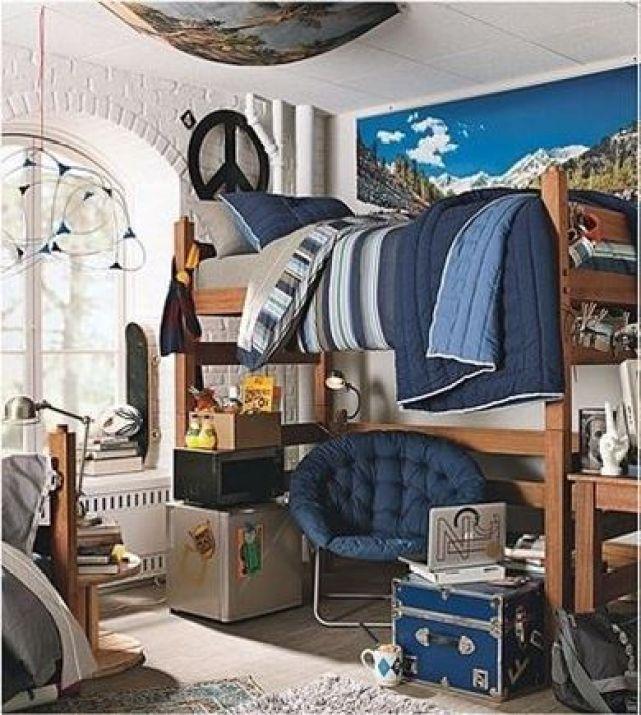 20 No-Fuss Dorm Rooms for Guys - Raising Teens Today