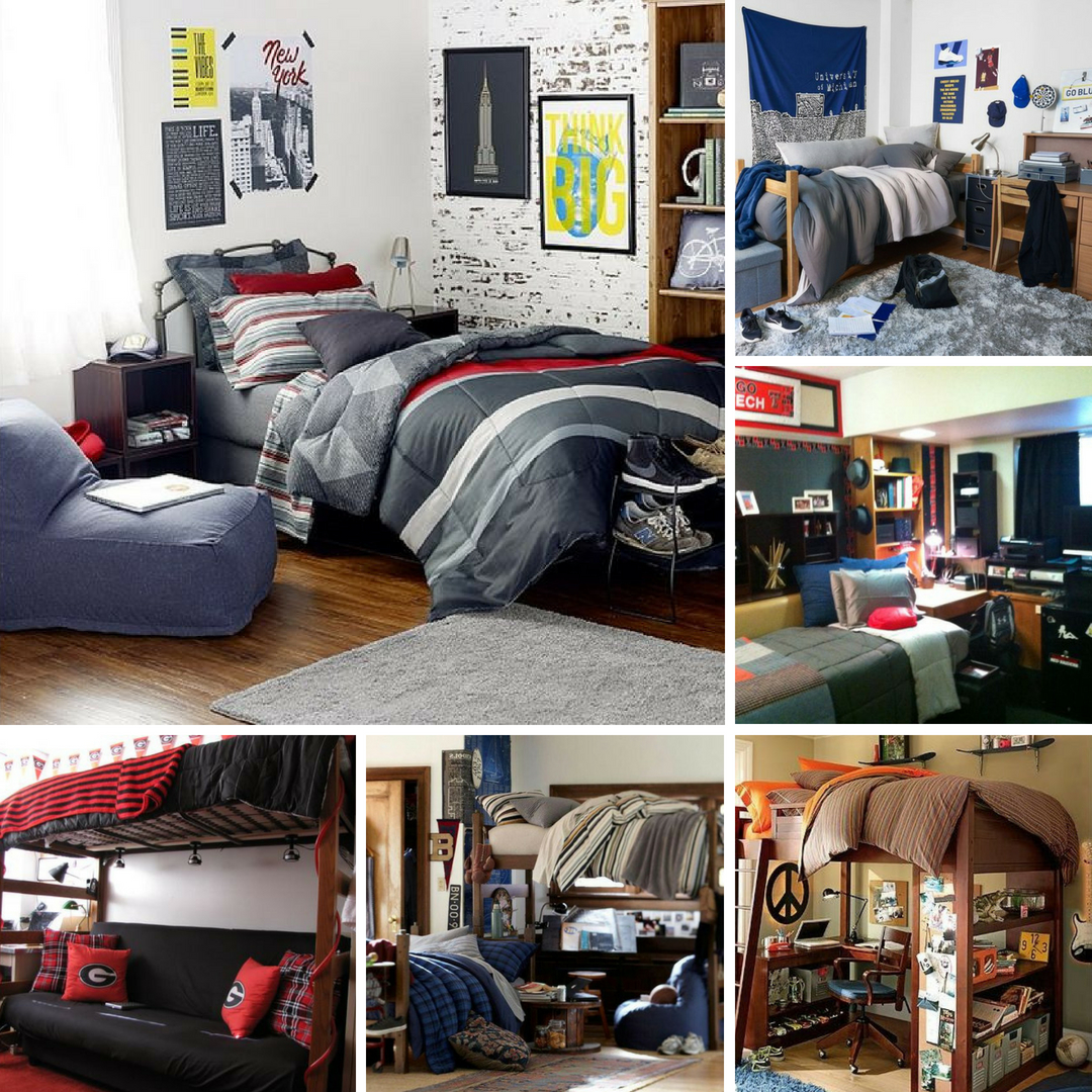 26 No-Fuss Dorm Rooms for Guys - Raising Teens Today