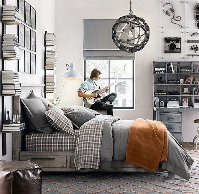 25 Super Cool Bedroom Ideas for Teen Boys - Raising Teens ...