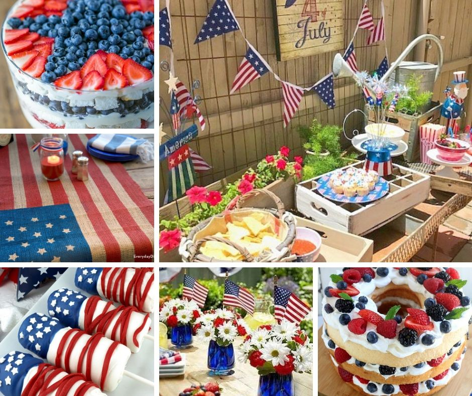 50 Best 4th Of July Party Ideas Food Fun Decor For July 4th Raising Teens Today