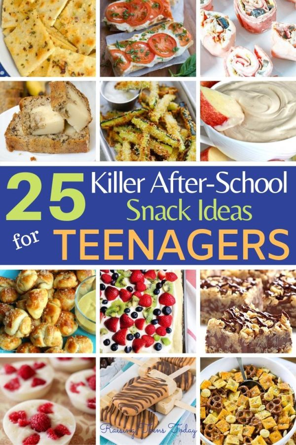 25 Killer After School Snack Ideas For Hungry Teens Raising Teens Today