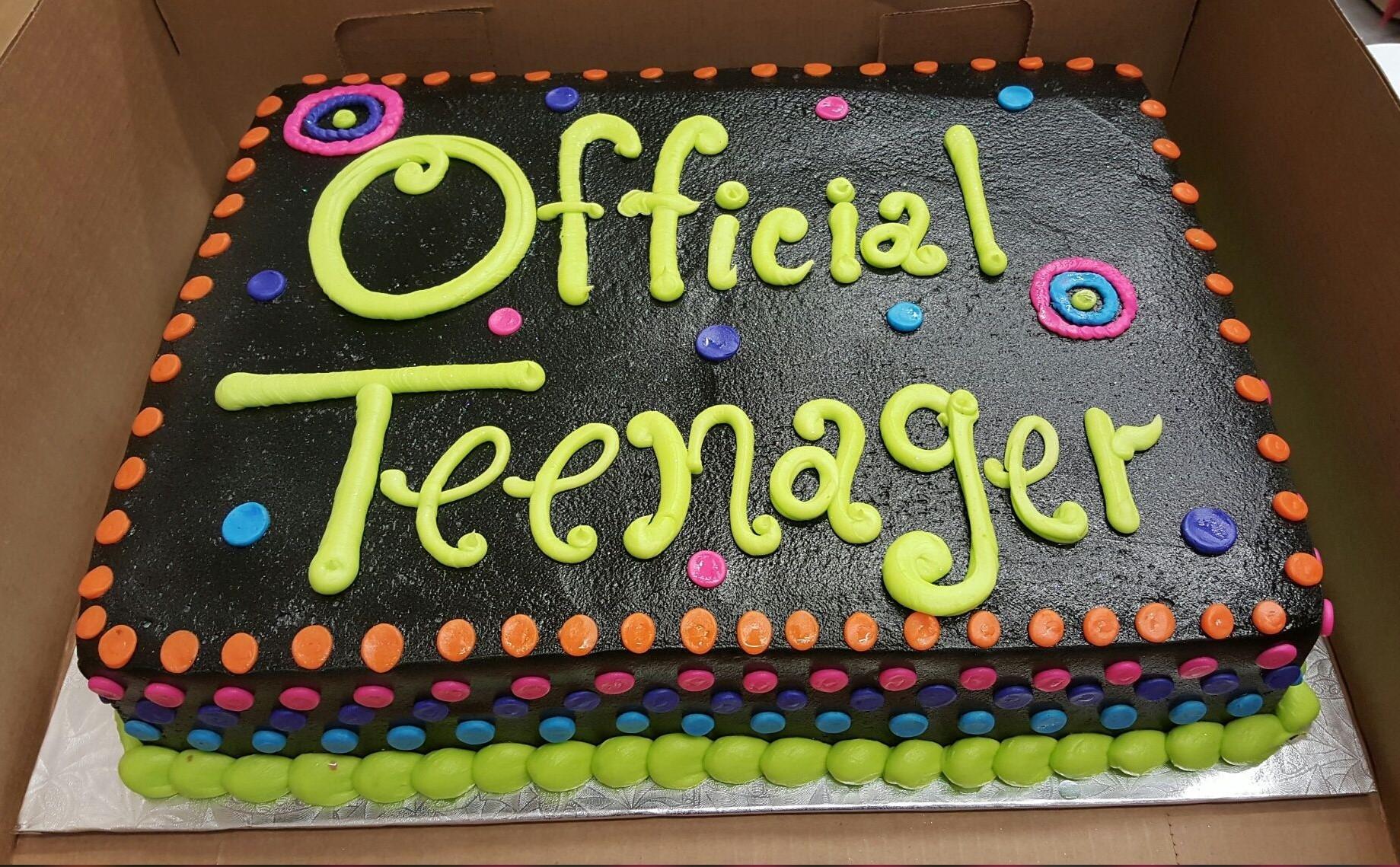 13 Year Old Boy Birthday Cake Ideas Best Of Calumet Bakery Ficial Teenager Cake Raising Teens Today