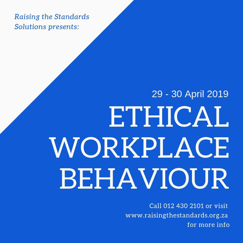 Ethical Workplace Behaviour