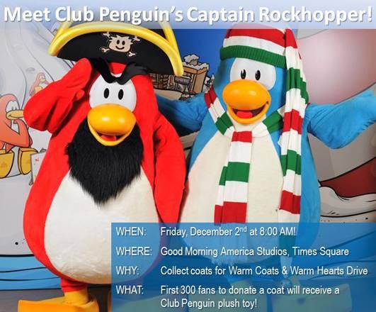 Club penguin giveaways december 2018