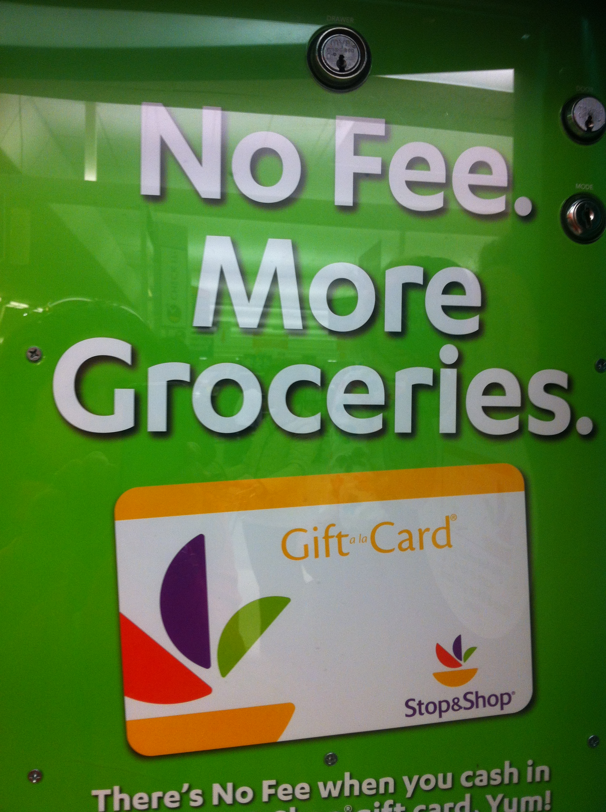 Local Stop & Shops offer #NoFeeCoinstar Gift Card Option #CBias