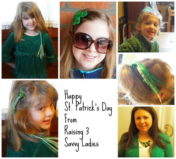 Wear Green on St. Patrick's Day