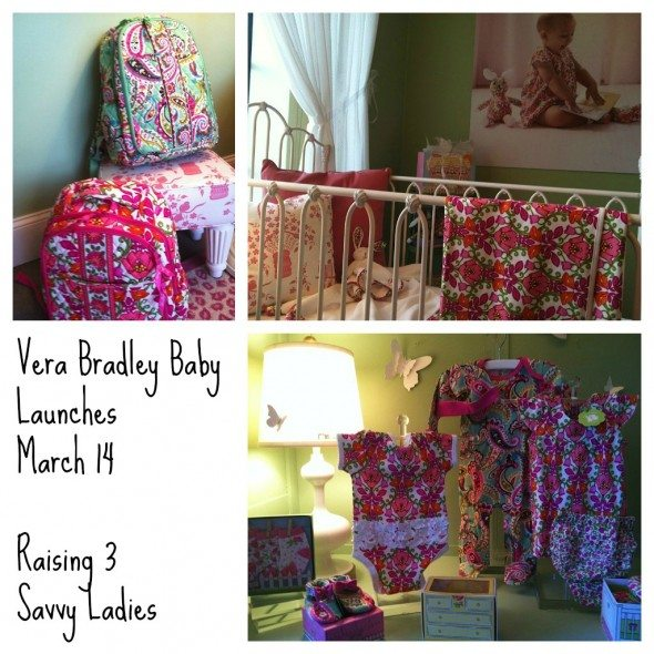 Vera Bradley Baby Launches March 14