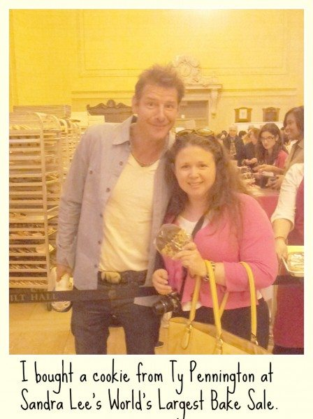 Ty Pennington Raising Money at the World's Largest Bake Sale