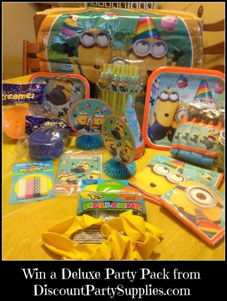 Win a Deluxe Party Pack from DiscountPartySupplies.com
