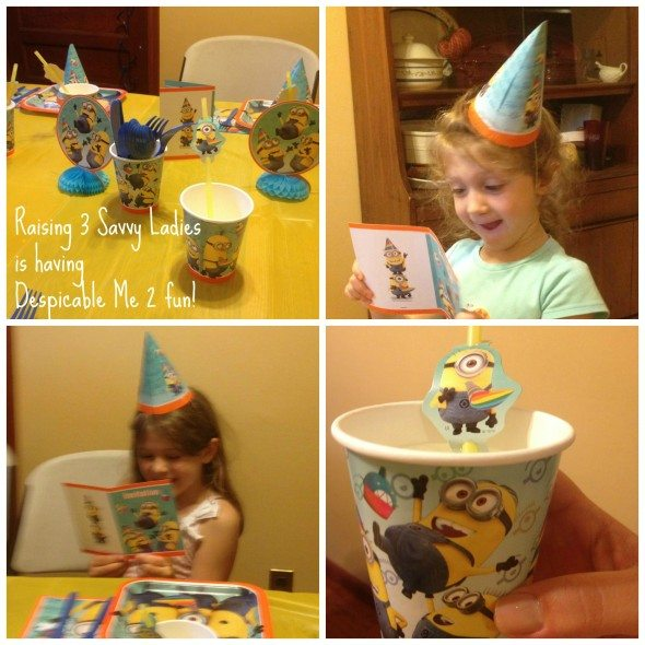 Despicable Me 2 Party Fun & giveaway