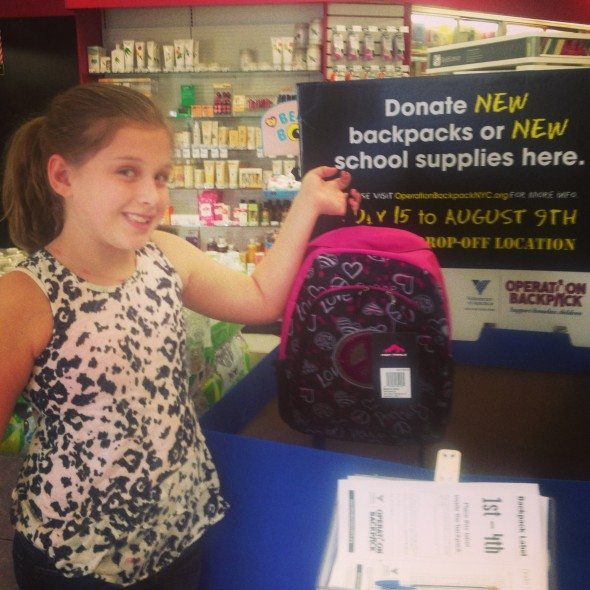 Duane Reade Back to School