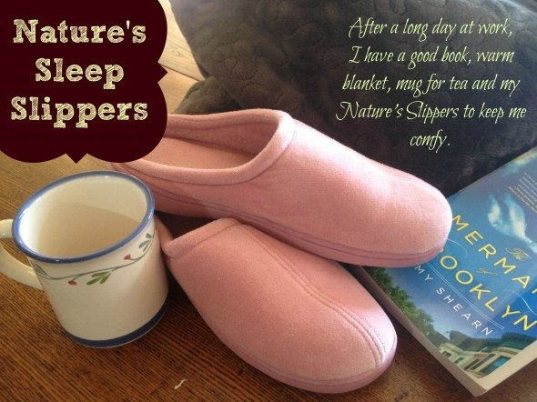 Nature's Sleep Slippers Giveaway