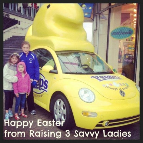 Easter Raising 3 Savvy Ladies
